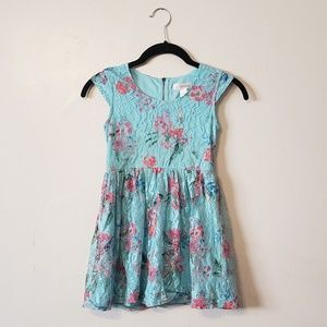 Xhilaration Girls Lace Dress 6/6x